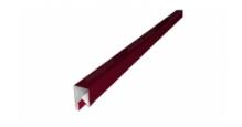 Планки П-образные для забора в цвете RAL 8019 серо-коричневый Grand Line в Ставрополь П-образная заборная 17