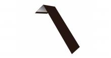 Металлические доборные элементы для фасада в Ставрополь Планка лобовая/околооконная простая 190х50